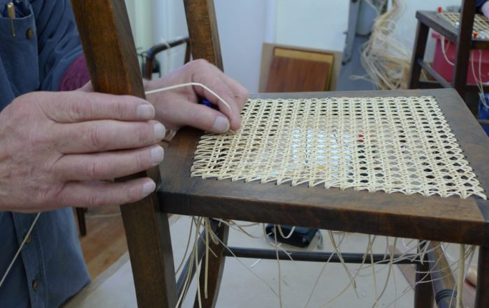 chair caning six way pattern